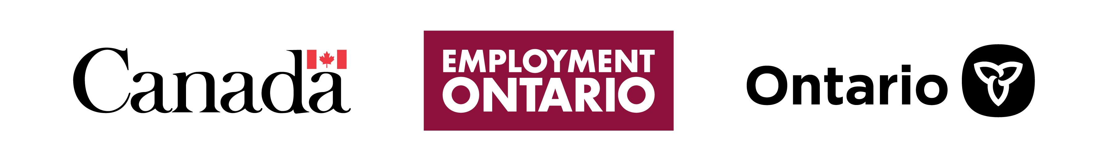 Employment Ontario tri logo